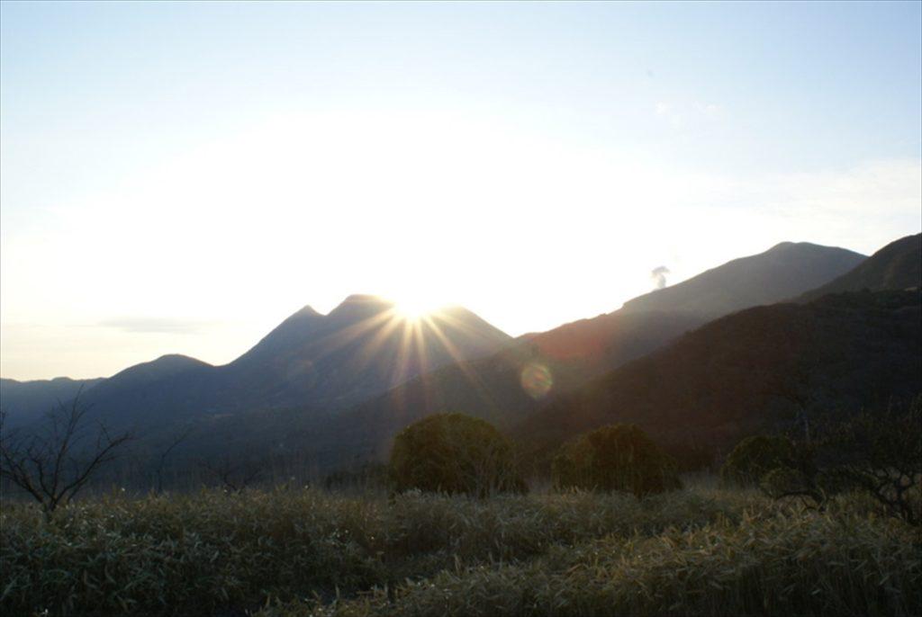 三俣山 ダイアモンドヘッド