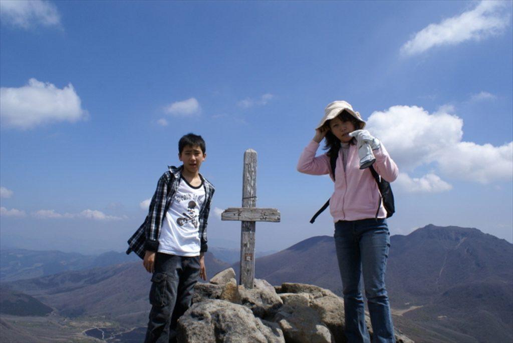 くじゅう登山 中岳