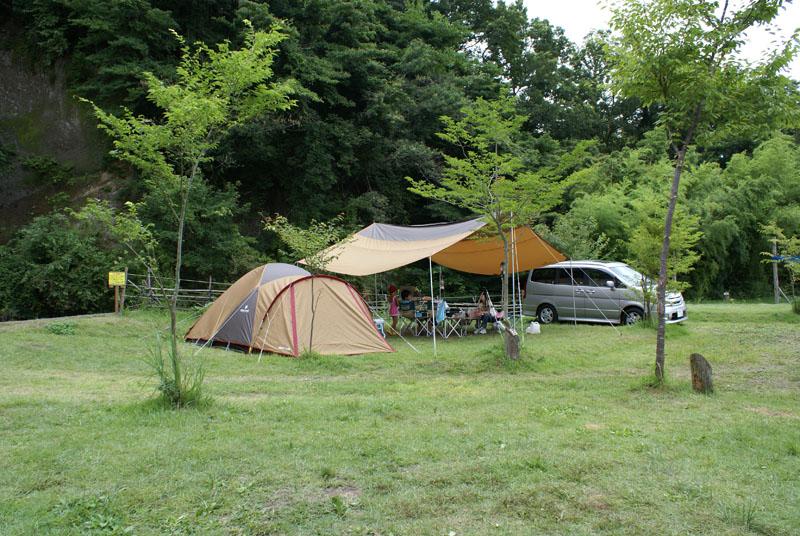 山鳥の森オートキャンプ場 レクタL アメニティードーム
