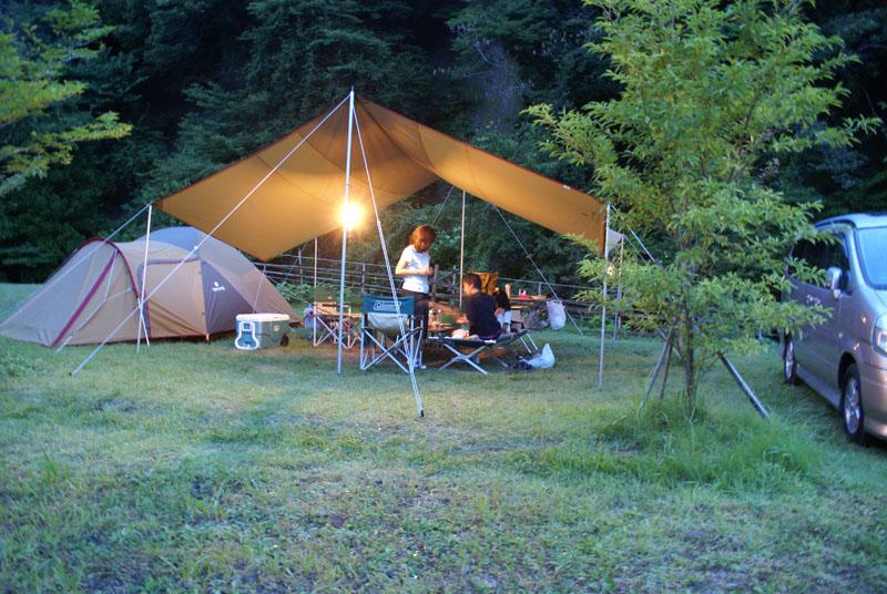 山鳥の森オートキャンプ場 レクタLアメニティードーム