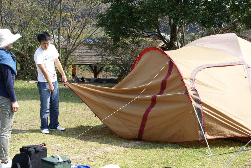 吉野山キャンプ場 アメニティードーム