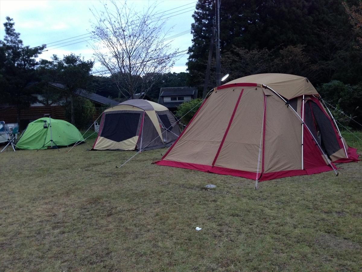 吉野山キャンプ場 リビングシェル