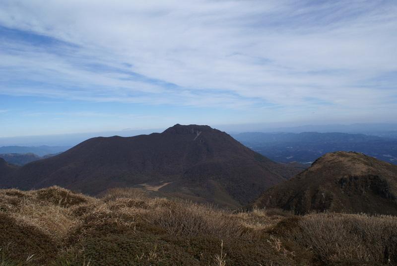 中岳からの眺め