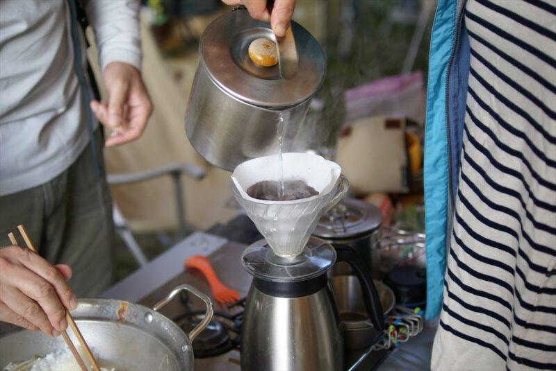 山鳥の森オートキャンプ場 コーヒー