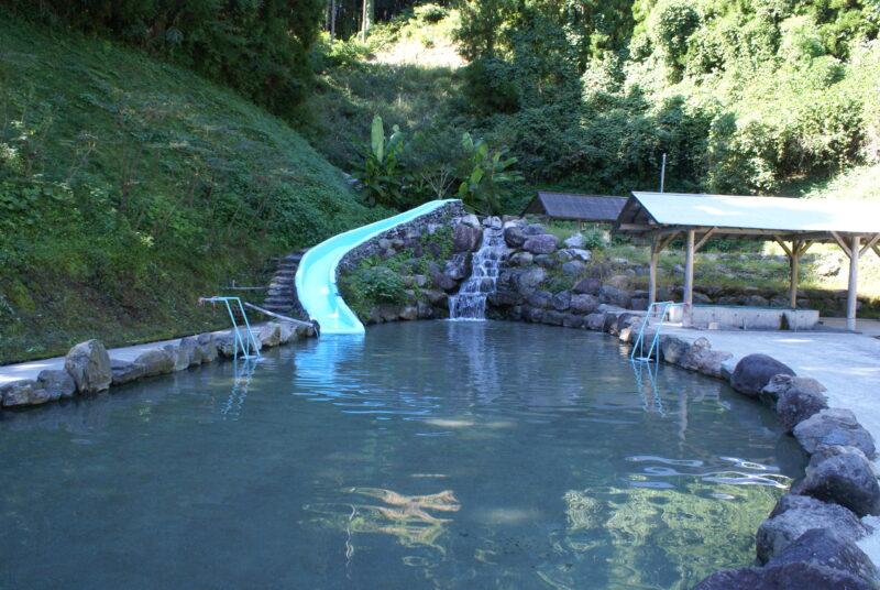 歌瀬キャンプ場 プール